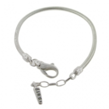 Silver Extendable Lobster Clasp Anklet