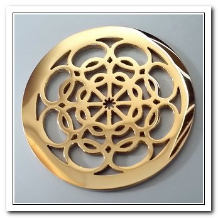 Coin C-13 - Flower Blossom - Yellow Gold