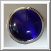 Coin C-17 - Cabochon - Blue Cat Eye