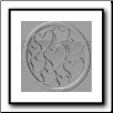 Coin C-47 - Multi Hearts - Silver