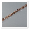 Coin Chain - Rose Gold Chain - 33""