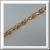 Coin Chain - Yellow Gold Chain - 33""