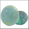 Glow in the Dark Glass Beads - Light Blue