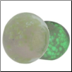 Glow in the Dark Glass Beads - Pink