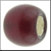 Birthstone - Murano Style Glass With Silver Leafing - January - Garnet
