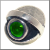 CZ Eye - Birthstone Bead - May - Emerald