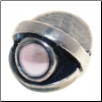 CZ Eye - Birthstone Bead - June - Pearl