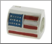 Enamel Flags - Double Sided - 2 Flags - USA