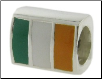 Enamel Flags - Double Sided - 2 Flags - Ireland