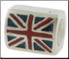 Enamel Flags - Double Sided - 2 Flags - United Kingdom