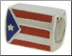 Enamel Flags - Double Sided - 2 Flags - Puerto Rico