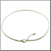 Silver Extendable Lobster Clasp Necklace