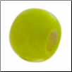 Glass Beads - Solid Color - Yellow
