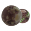 Glow in the Dark Glass Beads - Purple
