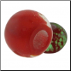 Glow in the Dark Glass Beads - Red