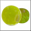 Glow in the Dark Glass Beads - Yellow