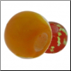 Glow in the Dark Glass Beads - Orange