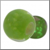 Glow in the Dark Glass Beads - Green