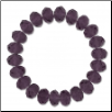 Crystal Bead Bracelet - Purple