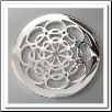 Coin C-12 - Flower Blossom - Silver