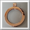 Coin Pendant - Pendant Smooth - Rose Gold