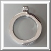 Coin Pendant - Pendant Smooth - Silver