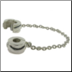 Decorative Chain - Two Clip - Wavey Line 360