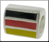 Enamel Flags - Double Sided - 2 Flags - Germany
