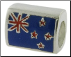 Enamel Flags - Double Sided - 2 Flags - New Zealand